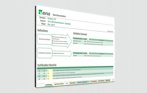 Vena financial close software - agile consolidation